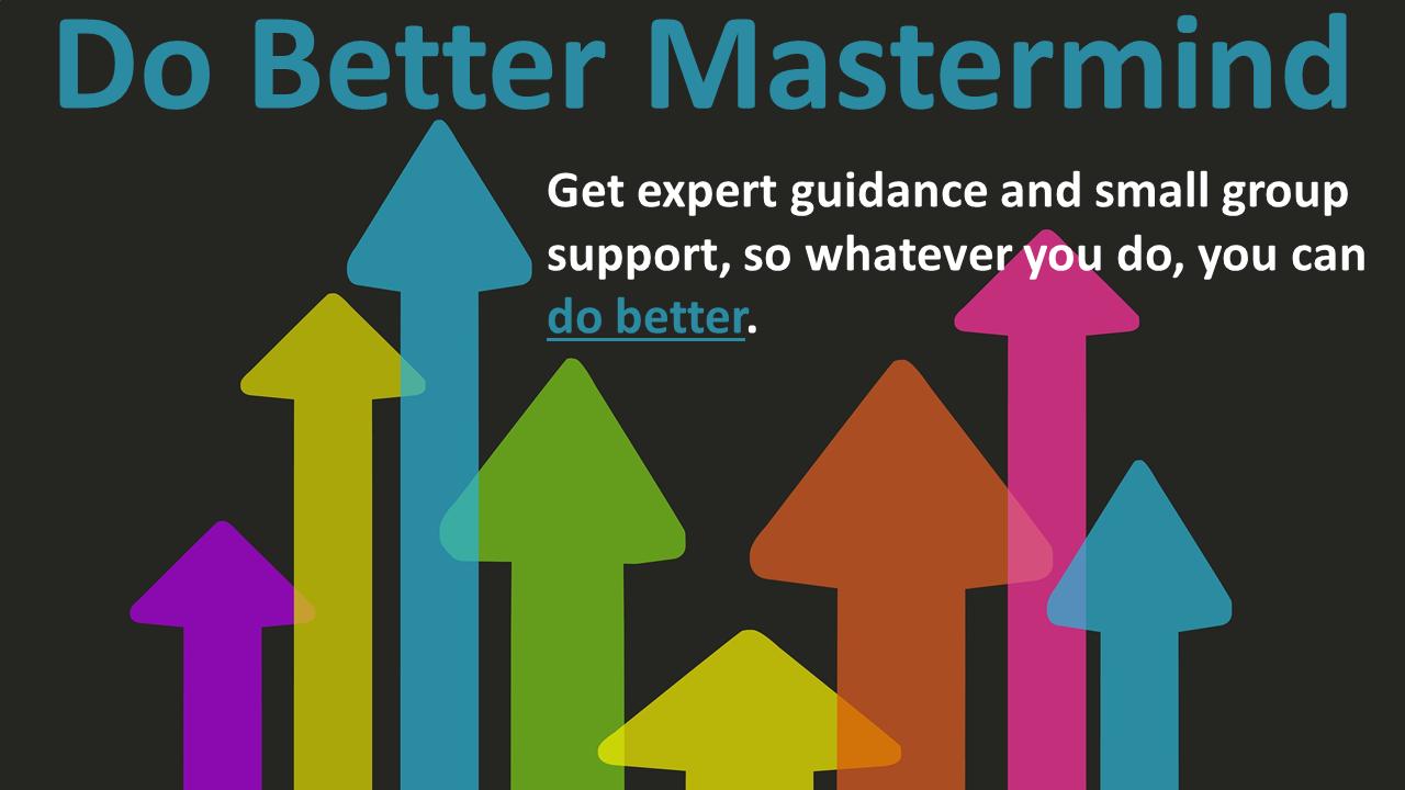 Do Better Mastermind